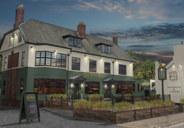 How the Pied Bull pub in Newton-le-Willows will look after renovation