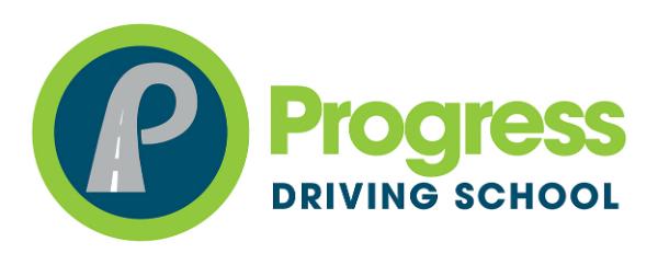 Progress Driving School logo