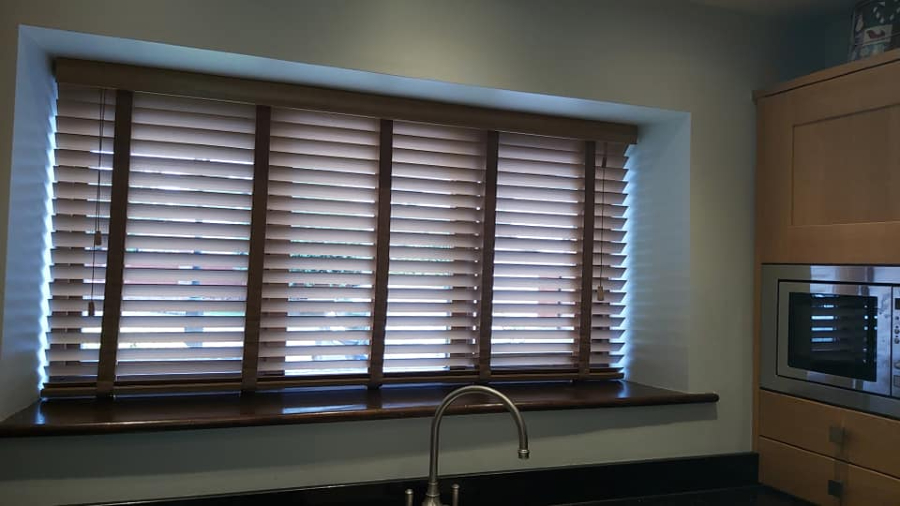 Venetian blinds by Grove Blind and Shutter Co