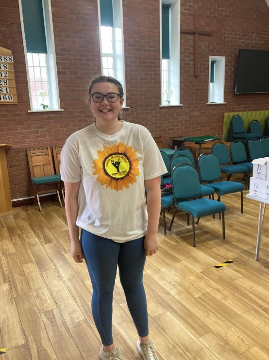Eve, a Business for Youth Volunteer, who has been nominated for a Young Citizens Award