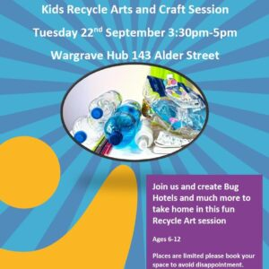 Kids recycle event